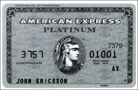 American Express Platinum Card - Graduate review